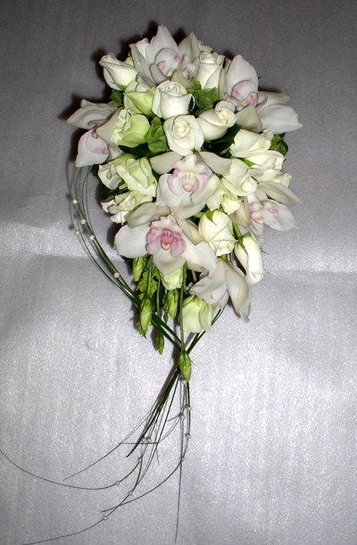 Saloon :: свадебные букеты 2015 из орхидей
